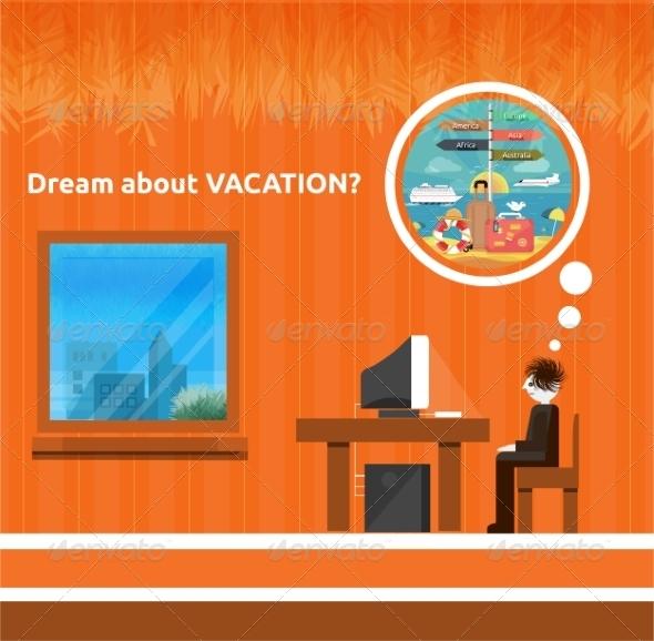 GraphicRiver Vacation Concept 8622846