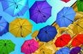 Umbrellas in the air - PhotoDune Item for Sale