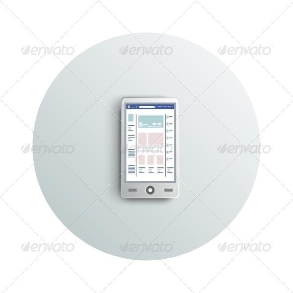 GraphicRiver Smartphone 8622893