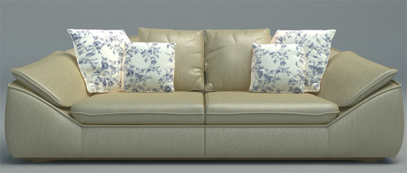 Sofa Relotti Palau - 3DOcean Item for Sale