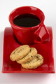 Oatmeal biscuits and cup of coffee - PhotoDune Item for Sale