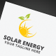 Solar Energy Logo - GraphicRiver Item for Sale