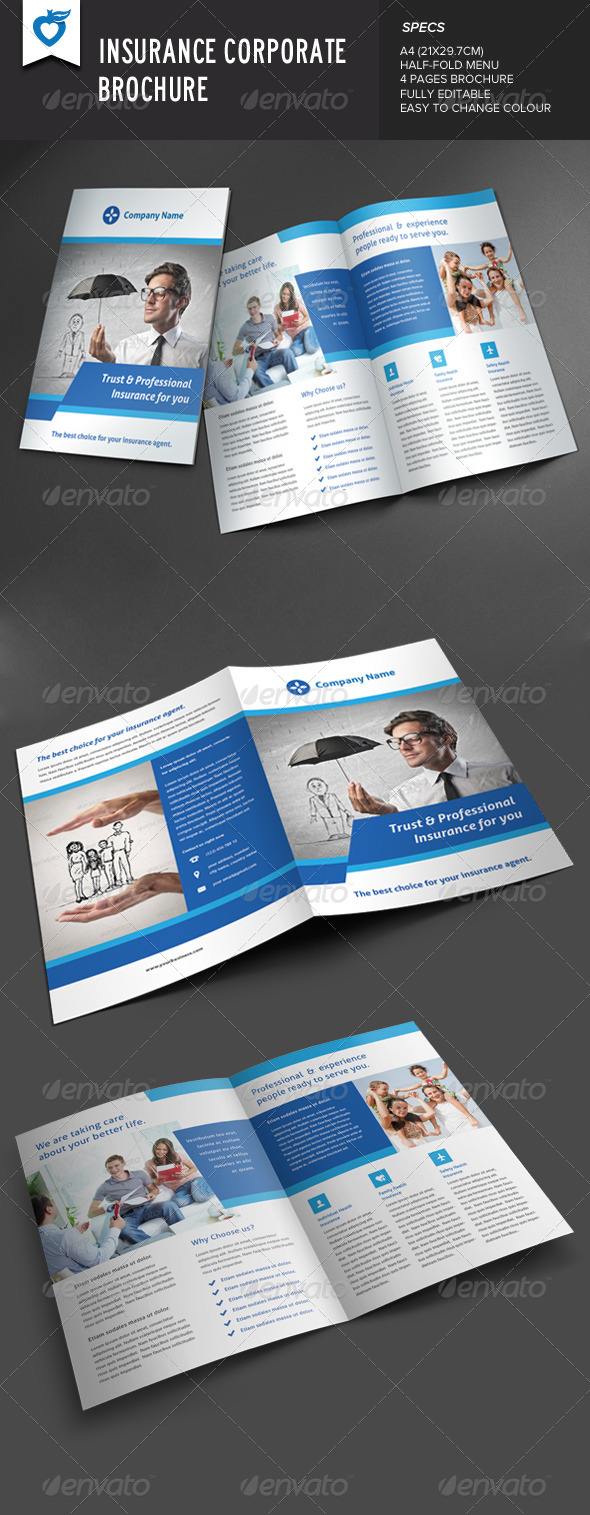 GraphicRiver Insurance Corporate Brochure 8624011