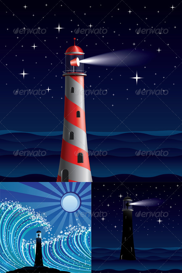 GraphicRiver Lighthouse 8624015
