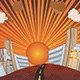 Sunset City Background - GraphicRiver Item for Sale