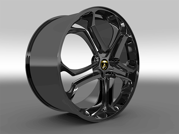 Rim for Lamborghini Aventador - 3DOcean Item for Sale
