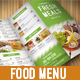 Food Menu Pack 4 - GraphicRiver Item for Sale