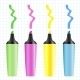 Set of Realistic Colored Markers - GraphicRiver Item for Sale