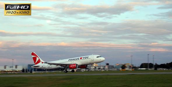 Plane Landing 1