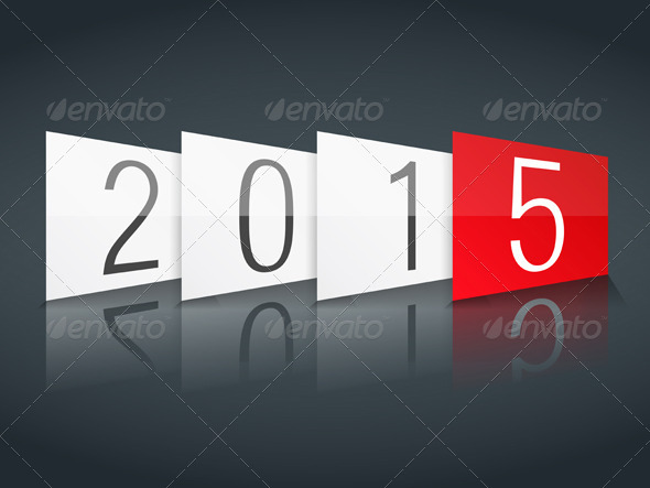 GraphicRiver New Year 2015 8625319