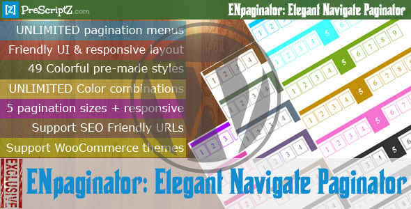 CodeCanyon Elegant Navigate Paginator for WordPress 8625548