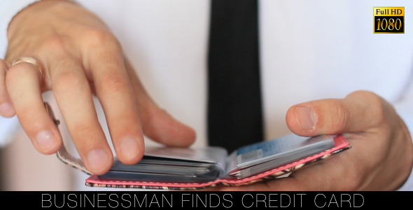 Businessman Finds Credit Card
