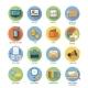 Business, Office and Marketing Items Icons - GraphicRiver Item for Sale
