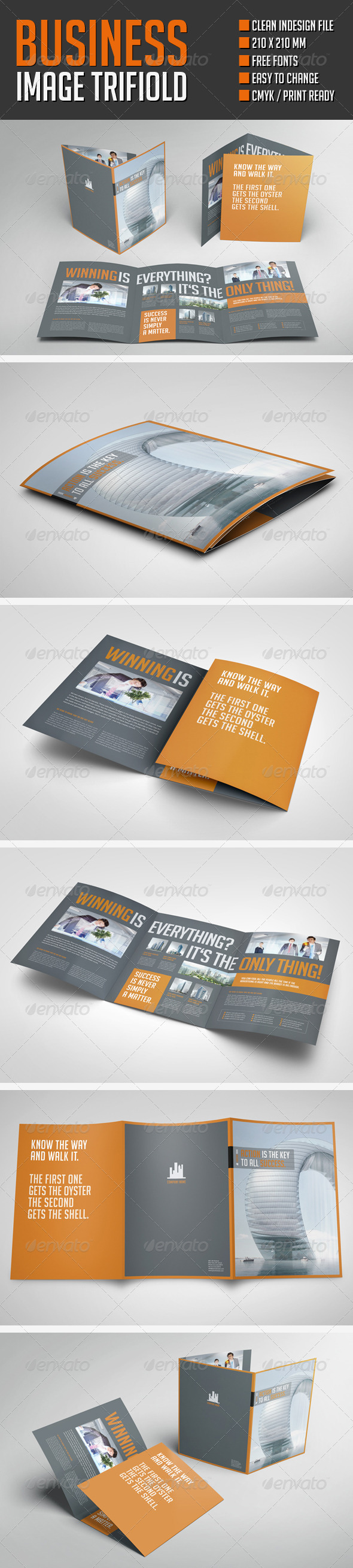 GraphicRiver Business Image Trifold Brochure 8625704