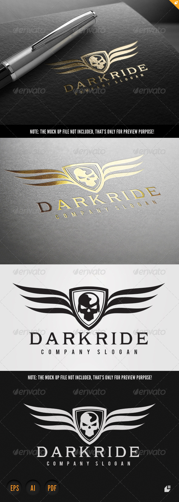 GraphicRiver Dark Ride 8625746