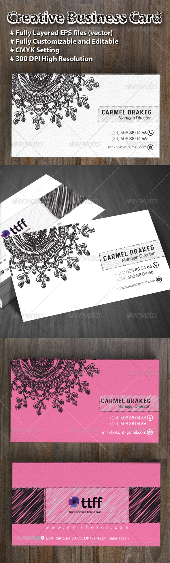 GraphicRiver Creative Business Card 8613165