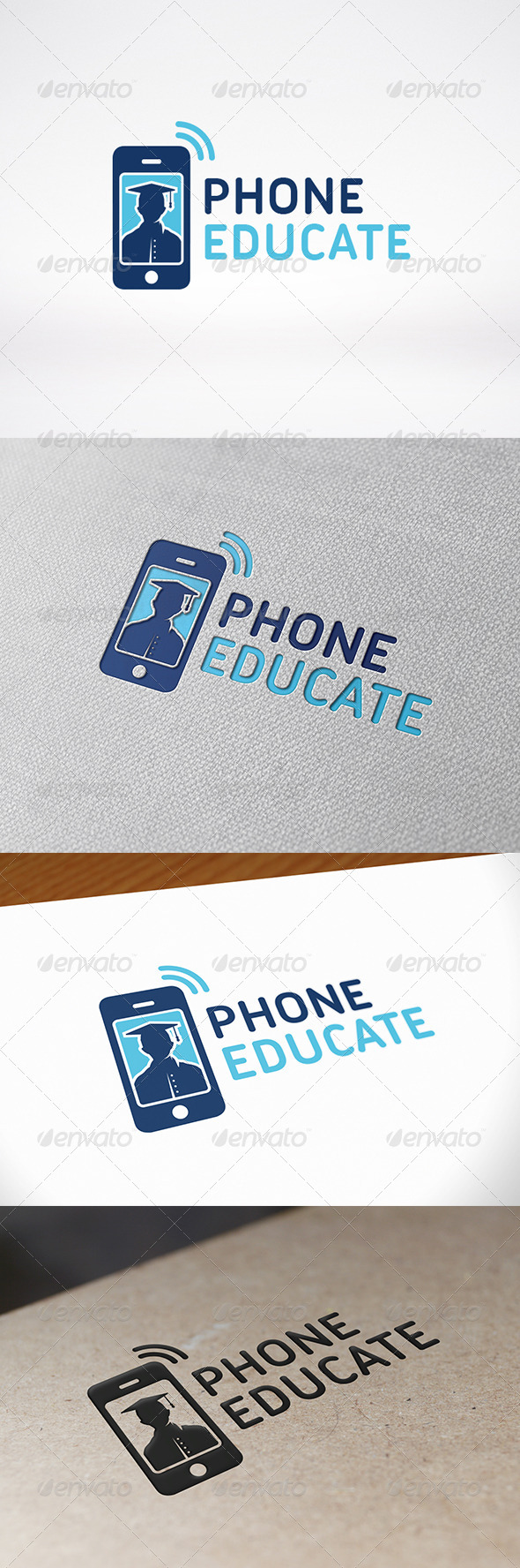 GraphicRiver Education App Logo Template 8626075