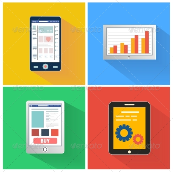 GraphicRiver Set of Smartphones 8626159