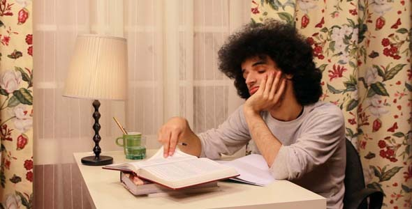 Man Studying On The Book 2