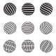 Abstract Dotted, Swirls and Grill Spheres - GraphicRiver Item for Sale