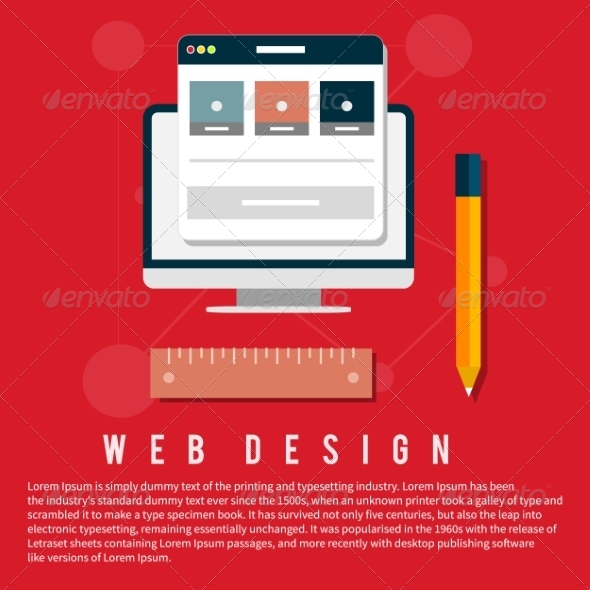 GraphicRiver Web Design Concept 8626435