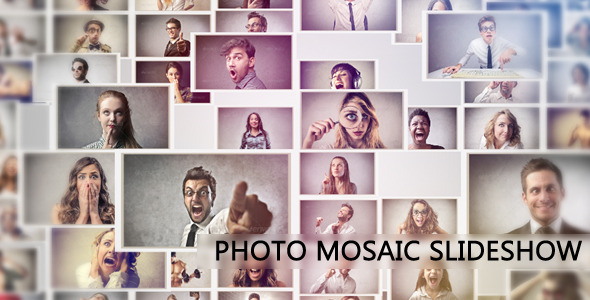 Photo Mosaic slideshow
