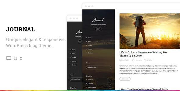 Journal Elegant Responsive WordPress Blog Theme