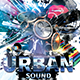 Urban Sound Party Flyer Template - GraphicRiver Item for Sale