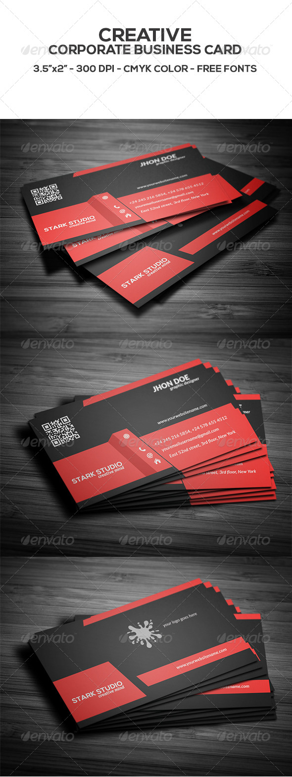 GraphicRiver Creative Business Card 8626645