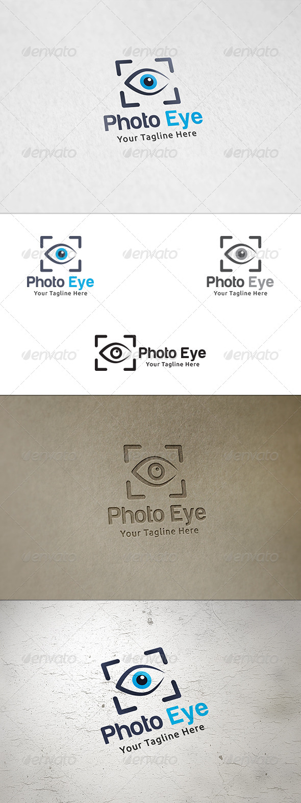 GraphicRiver Photo Eye Logo Template 8626651