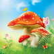 Red Magic Mushrooms - GraphicRiver Item for Sale