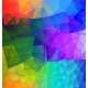 Polygonal Abstract with Colors