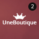 Une Boutique Ultimate eCommerce & Corporate Theme - ThemeForest Item for Sale