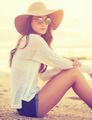 Fashion portrait of young woman - PhotoDune Item for Sale