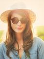 Portrait of Beautiful Girl Outdoors - PhotoDune Item for Sale