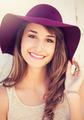 Portrait of Beautiful Girl in Hat - PhotoDune Item for Sale