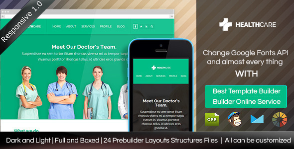 ThemeForest Health Care Responsive Email Template & Builder 8627779