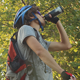 Cyclist Drinking Water - VideoHive Item for Sale