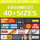 Corporate Web Banner Ad Design Bundle - GraphicRiver Item for Sale