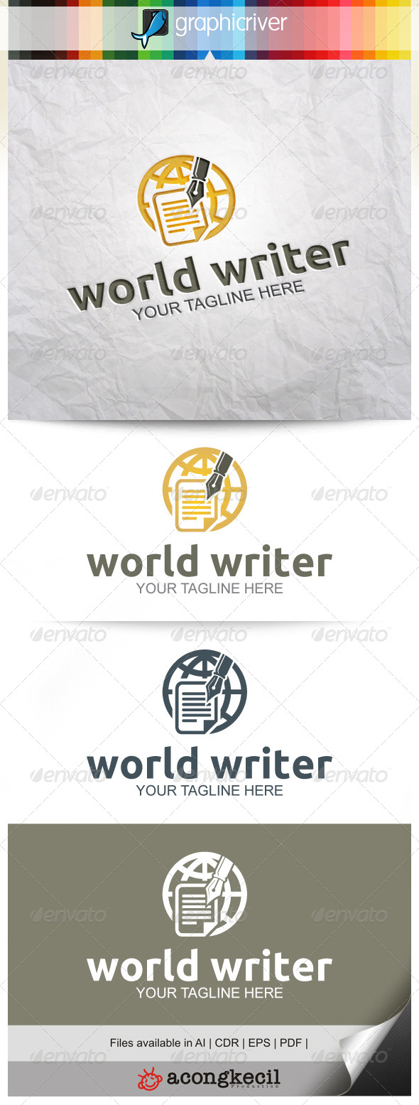 GraphicRiver World Writer 8628133