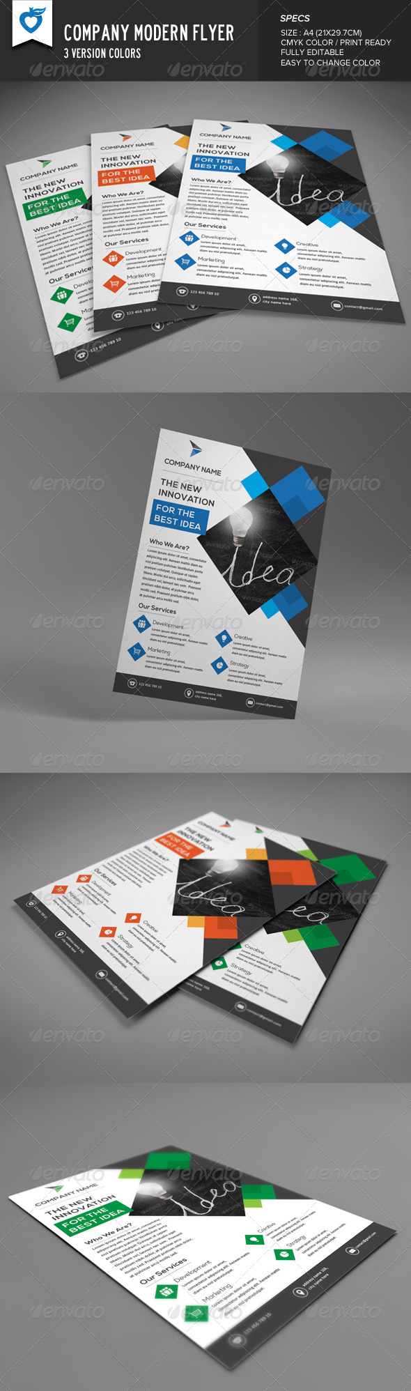 GraphicRiver Company Modern Flyer 8628980