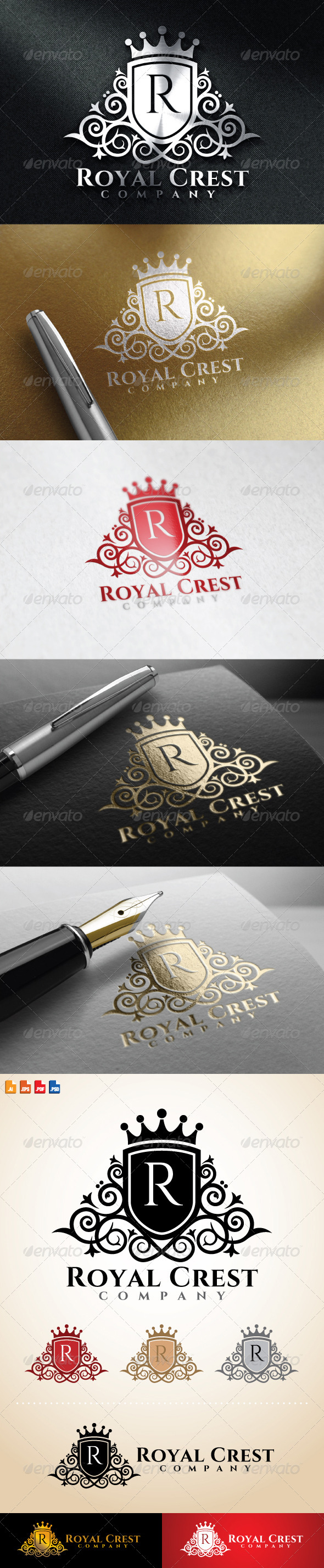 GraphicRiver Royal Crest Logo 8630792