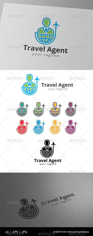 GraphicRiver Travel Agent Logo 8630828