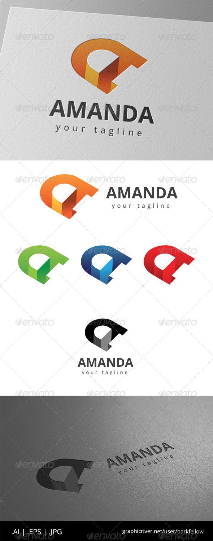 GraphicRiver Letter A Logo 8630899