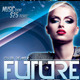 Future Night Out Flyer Template - GraphicRiver Item for Sale