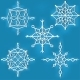Set of Ornate Snowflakes - GraphicRiver Item for Sale