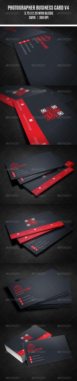 GraphicRiver Photographer Business Card V4 8630949