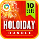 Holiday Sale Jumbo Bundle - 10 sets - GraphicRiver Item for Sale