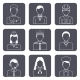 Professional Avatar Icons Set - GraphicRiver Item for Sale