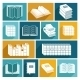 Book Icons Set - GraphicRiver Item for Sale